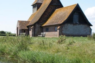 Fairfield Church at Romney Marsh, by Ray Lewis