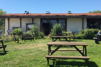 Photo of the front of Romney Marsh Visitor Centre