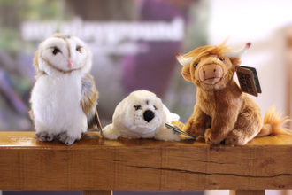 Adopt a species cuddly toys