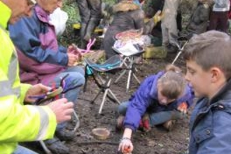 Kent Wildlife Trust's forest school