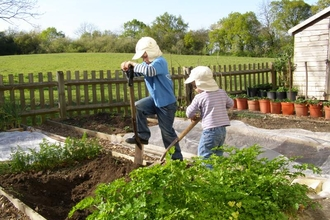 Children + Garden Permission received