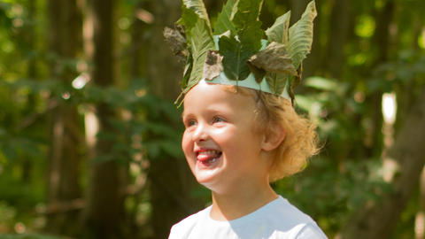 Nature Tots - nature crown