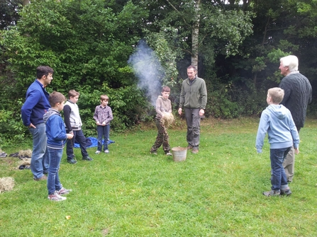 Bushcraft session