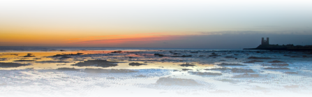 Reculver sunrise, photo by Chis Moncrief