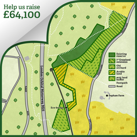 Polhill Bank map - help us raise £77,800