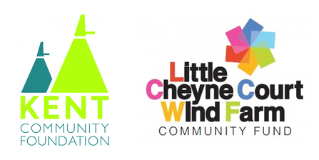 Kent Community Foundation and Little Cheyne Court Wind Farm Community Fund logo