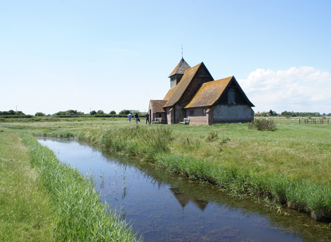 Fairfield church, Romney Marsh