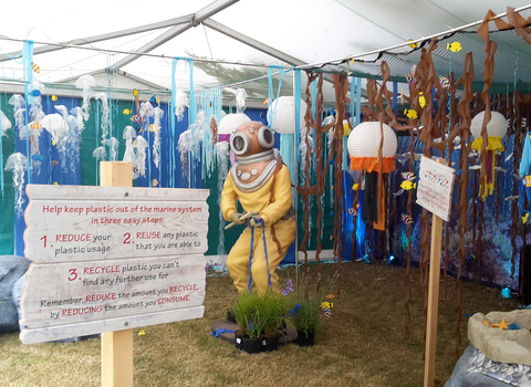 Guardians of the Deep Kent County Show Stand