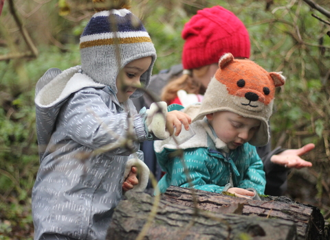 Nature Tots - Discovering Nature